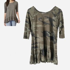 🌸New🌸 Dantelle Camo Tunic Top Medium NWT